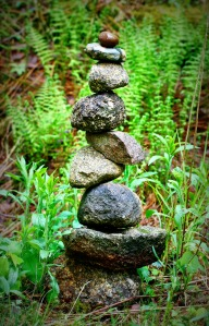 Rock stack 1 Lomo