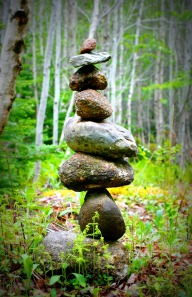 Rock stack 2 Lomo